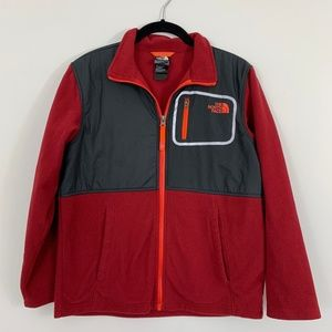 The North Face Fleece Jacket Boys Youth Size Large
